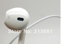2013 hot New Newest EarPods Earphone Headphone With Remote & Mic For Apple IPhone 5 5G 3G 3GS IPAD 2 3 Nano 7