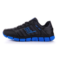 free shipping Winter paragraph delgado Men light leather running shoes slip-resistant shock absorption sport shoes 1218