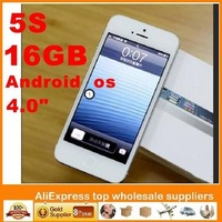 "2013 16GB !! Goophone I5 android Cell Phone Quad band 4.0""QHD wifi 1.0GHZ unlocked not MTK6589 MTK67577(zopo c2)"