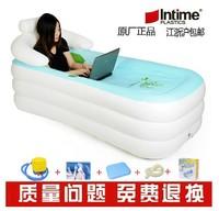 Yingtai folding bathtub bath bucket bath bucket bath bucket plastic thermal inflatable bathtub pump