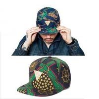 2013 Hot Wheels Gold Rope Decorate Hat Unisex Men And Women Hip-Hop Baseball Cap