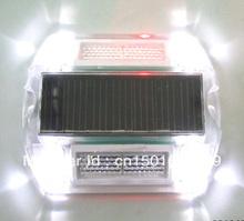 PC solar road stud,solar road marker light.solar cat eyes(China (Mainland))