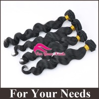 "8""-24"" cheap wavy brazilian hair 10pcs lot , virgin natural color can be dyed, virgin remy hair weave 10pcs/Lot"
