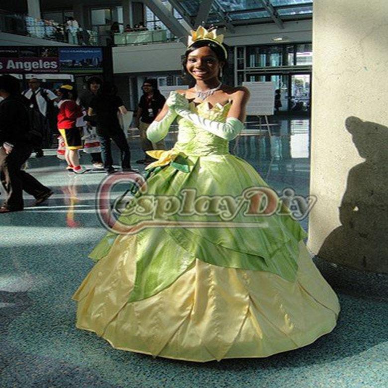 vestidos de la princesa y el sapo - aVestidos.com