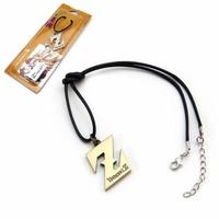 Anime Dragon Ball Saiyajin Z Logo Exquisite Pendant Necklace Hangings Cool Gifts x 10 pcs/lot  C1053