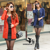 Women's 2013 sweater slim basic shirt female cashmere sweater cardigan