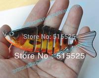 2014 Free shipping 2pcs/lot hard lure fishing lure swim bait muli-section lure