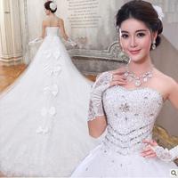 hot selling white  wedding dress custom size 2-4-6-8-10-12-14-16-18-