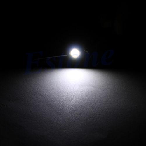 White 10X T3 LED 3528 SMD Car Dash Board Cluster Gauges Lights Bulbs DC 1