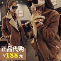Wadded jacket outerwear female 2013 women's medium-long cotton-padded jacket plus size cotton-padded jacket