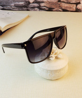 New Fashion Sunglasses  Brand Shades For Women 2013  Big Round Glasses With Popular Free Shipping