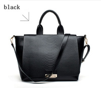 Snakeskin pattern high quality handbags 2013 new winter fashion bags fashion handbags shoulder bag free shipping