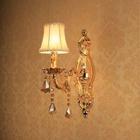 Gold wall lamp wall lamp bed-lighting aisle wall lamp