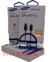 USB Data Sync Charging Cable for Samsung Galaxy S2 S3 S4 HTC LG Sony Nokia Blackberry Charger Adapter free shipping