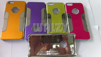 Aluminum Metal Brushed Chrome Hard Case Cover for Apple iPhone 5C -11 DHL free shipping 300pcs/lot promotion price