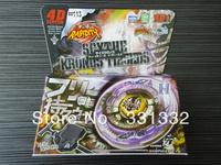 1pcs Beyblade Metal Fusion 4D set SCYTHE KRONUS T125EDS BB113 kids game toys children Christmas gift