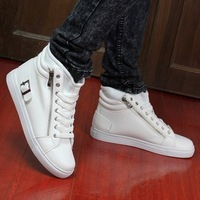 Spring and autumn boots men's high-top shoes male boots male shoes martin boots fashion male boots