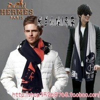 Male scarf thermal cashmere scarf carriage thickening male winter wool cape