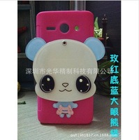 For Huawei C8813 mobile phone sets shell diamond rabbit Mirror Series Case