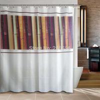 Bathroom products London bridge big ben bathroom shower curtain terylene bath curtain 180x200cm ,screen shower,curtain bath