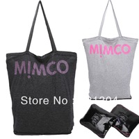 Free Shipping Brand New 100% cotton cloth Mimco Bag Eco-Friendly Shoppin bag Utility Tote Bag Foldable Bag Shoulder Bag Totes
