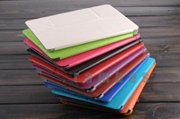 100 Piece PU Leather Case Slim Folding Stand Flip Cover Case with Wake Sleep Function for iPad Air for iPad 5