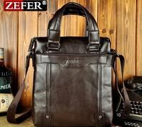 Fashion Men Handbag Men's Leather Messenger Bag Designer Man Leisure Business Bag