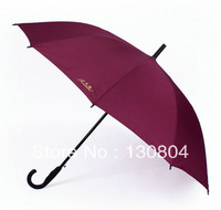 Automatic long-handled umbrella curved handle umbrella straight umbrella large umbrella