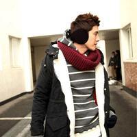 1pcs Fleece Earmuff Winter Ear Muff Wrap Band Warmer Grip Earlap Gift Men