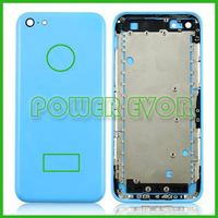 For iPhone 5c Full Replacement Back Housing Back Battery Cover Replacement Assembly For iPhone 5c Free Shipping