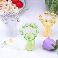 Novelty household items yiwu fashion fruit fork dessert fork small fork