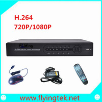1080P HD Network Video Recorder 4 Channels NVR H.264 Compression HDMI Interface,ONVIF