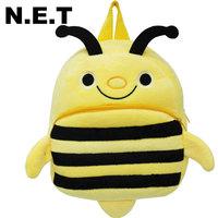 Children bag school cartoon animal backpack Baby Toddler kid's hairy Schoolbag Shoulder Bag kindergarten bag bee
