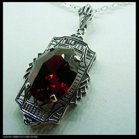 Free shipping, wholesale and retail of Victorian ancient silver pendant
