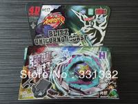 1pcs Beyblade Metal Fusion 4D set BLITZ UNICORNO 100RSF BB117 kids game toys children Christmas gift