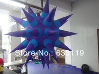 Free shipping New design Led  inflatable star for party and advertising decoration