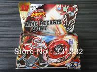 1pcs Beyblade Metal Fusion 4D set WING PEGASIS 90WF BB121A kids game toys children Christmas gift