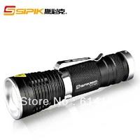 Sipik SK73 CREE XM-L T6 450-Lumen Zooming LED Flashlight (1x18650)