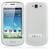 MYSAGA C3 4.0 inch  MTK6572M Dual Core Smart phone Android 4.2 Dual SIM Card Play Store WIFI GPS Russian Free shpping!