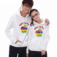 Brand Hooded P18 lovers male women's autumn and winter fleece  pullover sweatshirt outerwear  Men's Women's