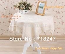 wholesale beige linen tablecloth