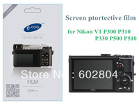 camera LCD protective film screen protector for nikon V1 P300 P310 P330 P50 P510 P520 scratch-resistant protector