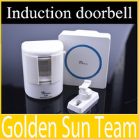 Wireless Induction doorbell 220V Receiver / Transmitter Remote Doorbell 80-110db 30 polyphonic music Free/Drop Shipping