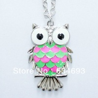Fashion vintage supply fashion exquisite owl necklace