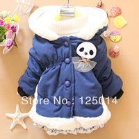 The new girl winter 2013 little bear cute cotton coat