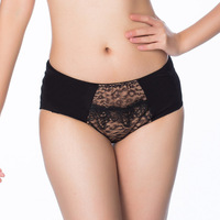 Free Shipping Wholesale 3Pieces women's sexy leopard print panties health panties k042