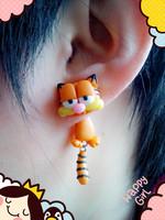 Handmade polymer clay cartoon stud earring new arrival