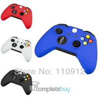10piece Multi colors Free shipping,10pcs/lot ,10x Protective Silicone Gel Rubber Case Skin Grip Cover For Xbox One Controller