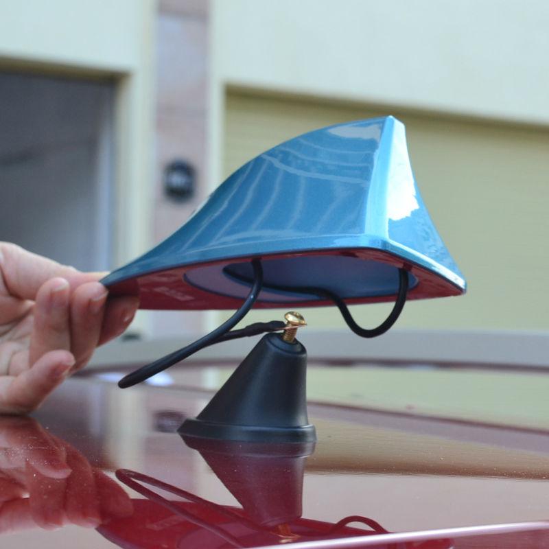 2013 Hyundai New SantaFe Car With blank radio shark fin antenna signal shark fin with 3M adhesive Free shipping(China (Mainland))