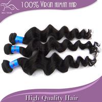 Grade 5A unprocessed virgin indian loose wave hair 3 bundles mixed length the best hair extensions natural human hair